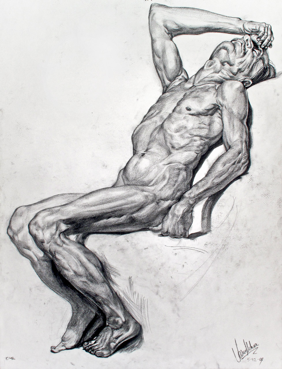 Replica Figure Drawing Study