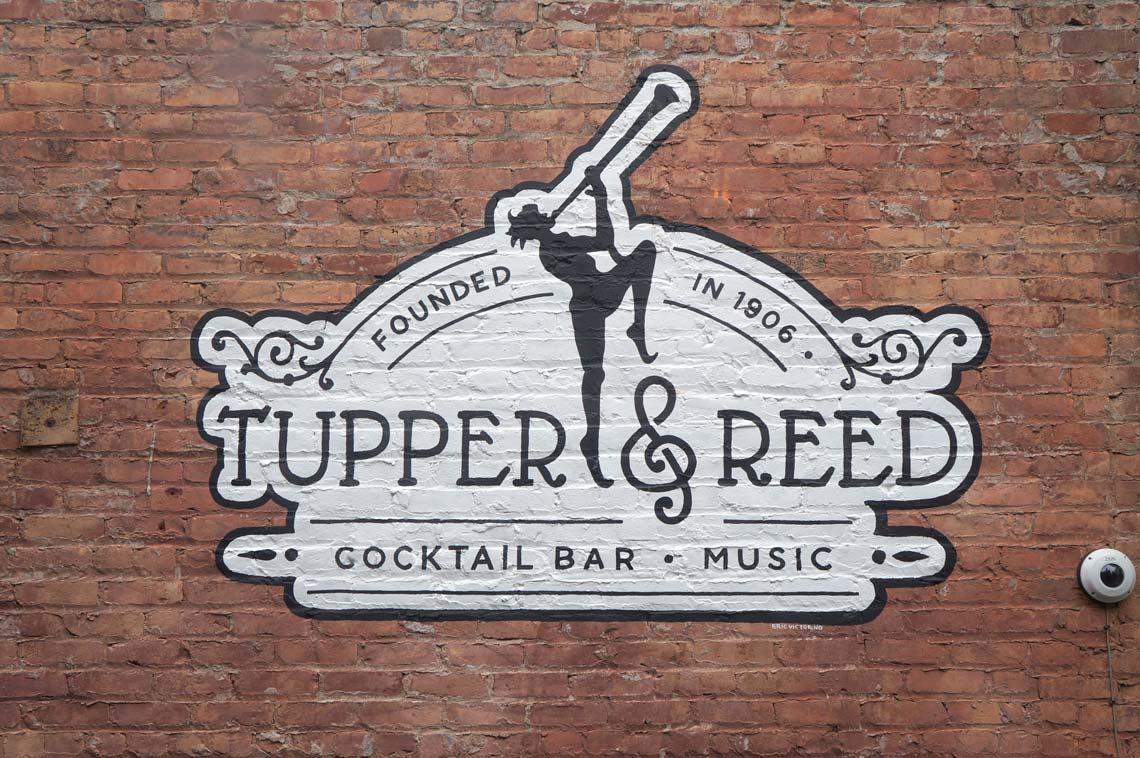 Tupper & Reed Logo Signage