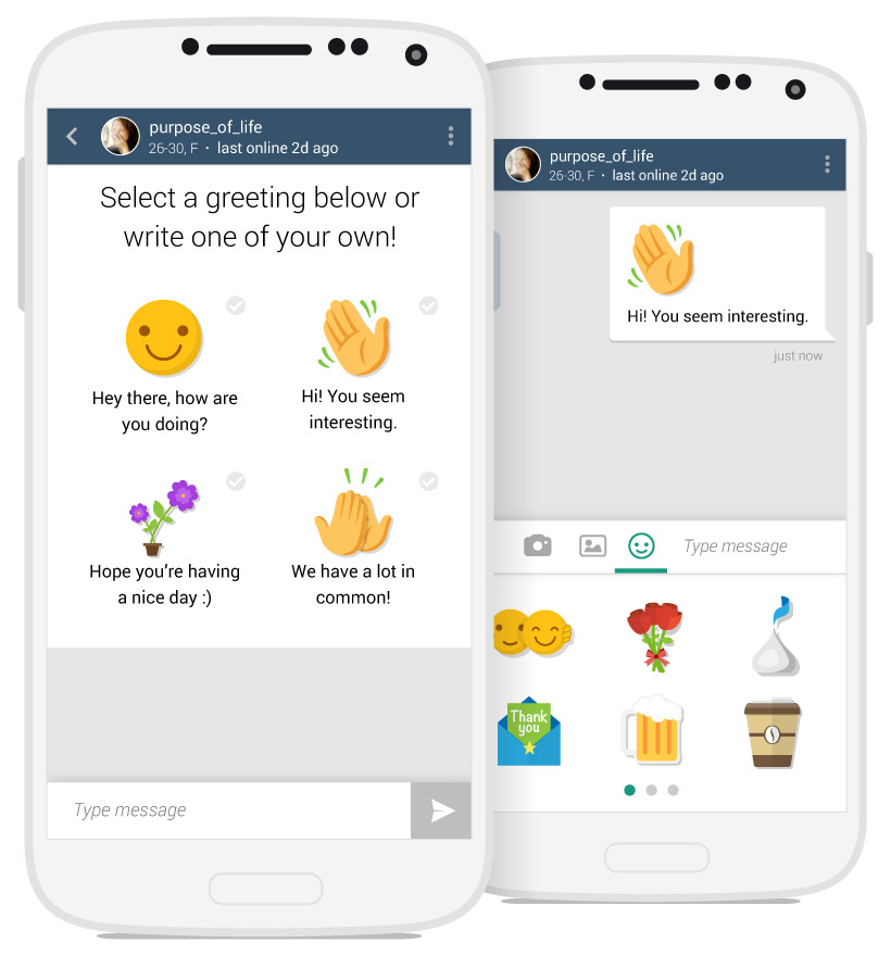 Icebreaker Messaging & Sticker Attachments