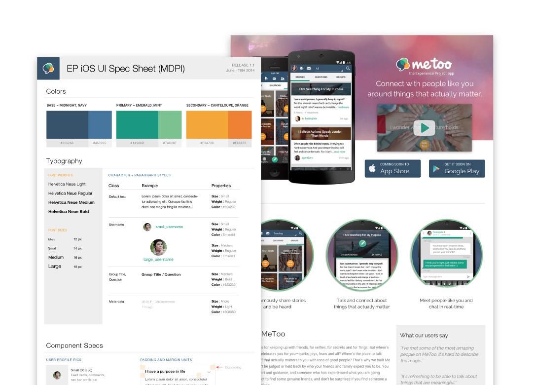 Branding, Marketing, and UI Designs Board